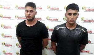 Surquillo: atacan a policías para frustrar detención de dos sujetos