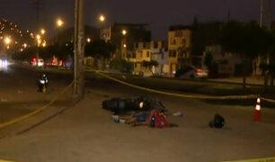 Carabayllo: ciclista muere tras confuso accidente en la av. Túpac Amaru