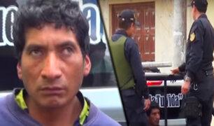 Cajamarca: detienen a sujeto que abuso de un niño de 12 años en Chota