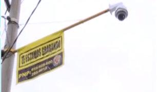 SJM: vecinos adquieren más de 80 cámaras para evitar robos al paso