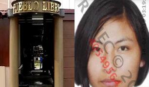 Pueblo Libre: joven de 18 años fue hallada muerta en habitación de hotel