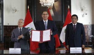 Presidente Vizcarra promulga Ley Orgánica de la Junta Nacional de Justicia