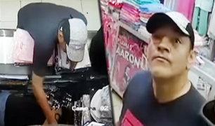 Se incrementan robos de celulares en puestos de Gamarra