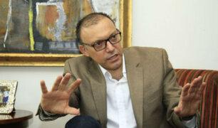Pier Figari renunció al cargo de personero legal del partido Fuerza Popular