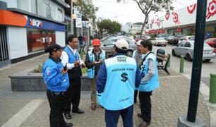 Miraflores: cambistas que sigan en calles serán multados con S/ 4.200