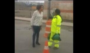 Arequipa: mujer que golpeó y discriminó a trabajadora podría ir a prisión