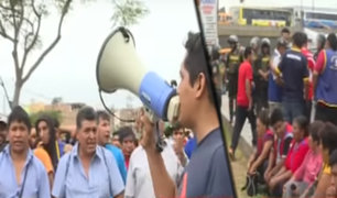 San Martín de Porres: mototaxistas protestan y rechazan a conductores informales