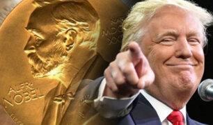 Según diario japones, Donald Trump será nominado al Premio Nobel de la Paz