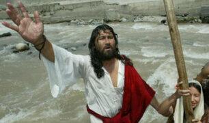 'Cristo Cholo' se encuentra gravemente herido tras caer desde el tercer piso de su casa en Comas