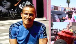 'Kukín' Flores: así fue la multitudinaria despedida del ídolo rosado