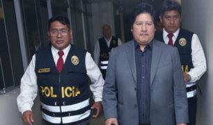 Caso 'Cuellos Blancos': desisten en pedir prisión preventiva para Edwin Oviedo