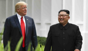 Donald Trump y Kim Jong-un firmarían la paz