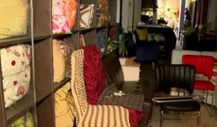 Lince: vecinos frustran robo a tienda de interiores