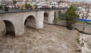 Arequipa: río Chili aumenta su caudal y alertan sobre posible desborde