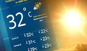 Temperatura en Lima Este superó los 32°C