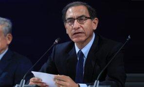 Presidente Vizcarra alertó que han ocurrido 20 feminicidios en lo que va del 2019