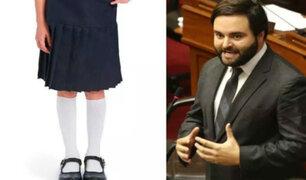 Alberto de Belaunde propone eliminar el uso de faldas escolares en colegios