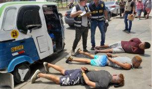 Los Olivos: detienen a banda de 'marcas' cerca a centro bancario