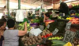 Se registra alza de precios en mercados tras bloqueo de carreteras