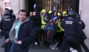 España: protestas en Barcelona por juicio a independentistas