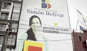 Sunedu niega licenciamiento a la Universidad Peruana Simón Bolívar