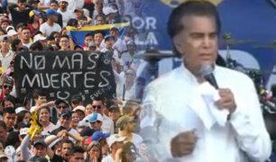 """Megaconcierto """"Venezuela Aid Live"""": José Luis Rodríguez """"El Puma"""" regresó a los escenarios"""