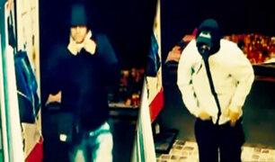 En solo 40 segundos asaltan agente bancario en Chorrillos