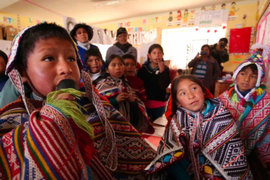 Solo 6 de 48 lenguas originarias están incluidas en el Plan Nacional Educativo del país