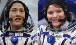 EEUU: por primera vez en la historia dos mujeres harán una caminata espacial