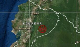 Ecuador: terremoto de 7.5 remece sur del país