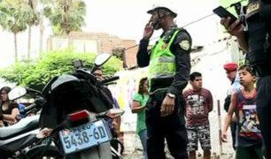 Surco: asalto a agencia bancaria dejó un cambista herido