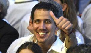Juan Guaidó llega a Bogotá para participar en reunión de Grupo de Lima