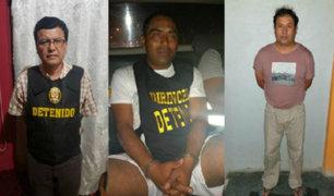 Lambayeque: desarticulan banda 'Los Topos de San Ignacio' tras megaoperativo