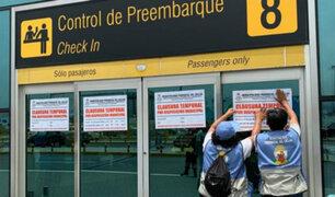 Lima Airport Partners se pronunció tras clausura temporal del aeropuerto Jorge Chávez