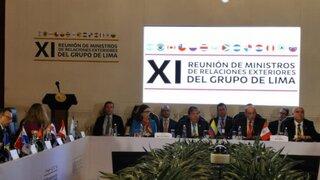 Grupo de Lima: Cualquier acción contra Guaidó daría lugar a una respuesta internacional