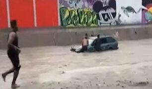 Piura: calles de Sullana inundadas tras intensas precipitaciones