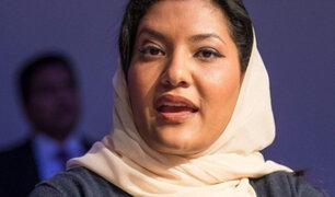 Arabia Saudí tendrá por primera vez una mujer como embajadora