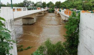 Se registra descenso en caudal del río Piura y disminuye riesgo de desborde
