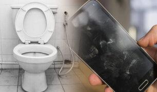 Advierten que los celulares tienen hasta 18 veces más bacterias que los inodoros