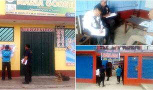 Ventanilla: clausuran tres colegios particulares por operar sin licencia