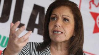 Lourdes Flores admitió reunión con Barata y Trindade Serra en su domicilio