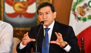 Carlos Morán pide que Fiscalía solicite arresto domiciliario para implicados en corrupción