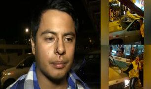 SJM: joven denuncia que fue agredido por trabajadores de conocido centro comercial