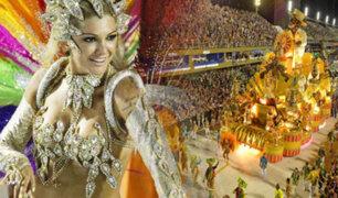 Todo listo para el inicio del carnaval de Río de Janeiro