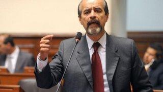 """Mulder sobre diálogo de Vizcarra y Olaechea: """"Que se respete lo que vaya a decidir el parlamento"""""""