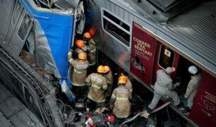 Choque de dos trenes en Brasil deja al menos ocho heridos