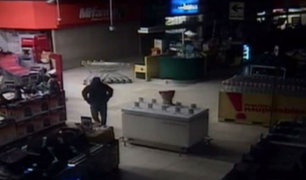 Capturan a implicado en robo a supermercado de SJM