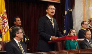 España: Martín Vizcarra anunció que coordina acciones por lluvias