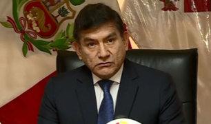 Odebrecht: ministro Morán pide medidas más drásticas para investigados