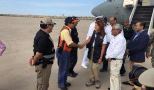 Mercedes Aráoz anunció construcción de puente en quebrada Juana Ríos